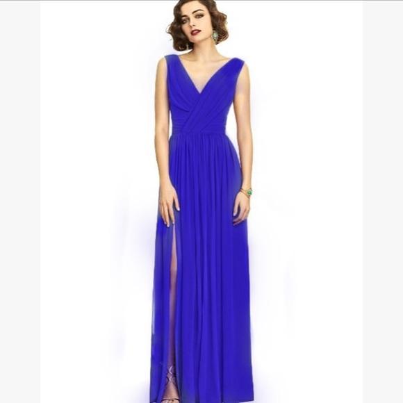 vivian diamond Dresses | Dessy Bridesmaid Formal Gown | Poshmark